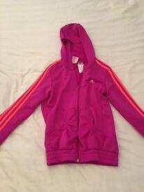 Girls Adidas hoody age 11-13