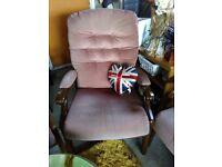 good solid armchair £20