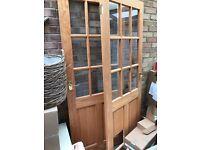 2 Wooden Interior doors