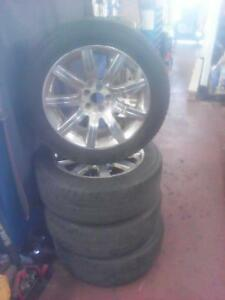 235/55/19 Ford Flex Limited Alloy Wheels with TOYO All Season Tires