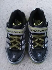 Sketchers trainers/shoes. Kids size 11.5. Boy/girl. Excellent condition RRP around £33+