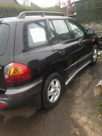 nice smooth running hyundai sante fe for sale