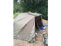 Fishing bivvy jrc sti swap for a Brolley system