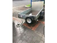 As new P7 Ifor Williams Trailer .