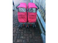 Maclaren techno double pushchair