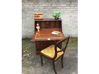 VINTAGE CHEST OF DRAWERS DESK FREE DELIVERY regency style