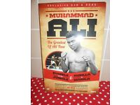 BRAND NEW SEALED - ESPN Muhammad Ali The Greatest Of All Time Dvd & Book set