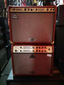 ACOUSTIC GUITAR AMPLIFIERS BEHRINGER *DEMO
