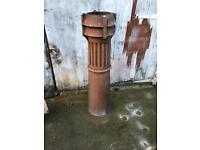 Long tom chimney pot
