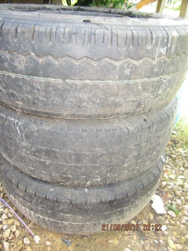 Car , van spare wheel
