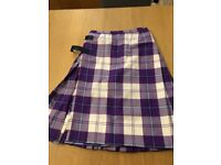Girls highland dancing outfit age age 10-16