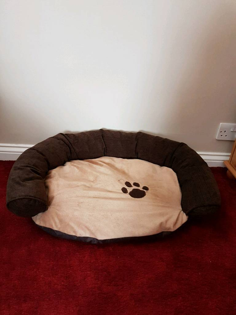 Large sized dog bed sofa with removable covers