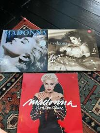Madonna vinyl collection