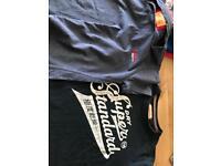 Super Dry T Shirts x2 medium