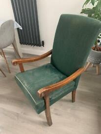 Vintage Parker Knoll armchair circa 1940