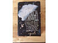 Patricia Cornwell hardback book