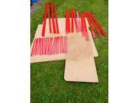 5 Tier Adjustable Shelving Rack H 180cm W 120cm D 44cm Easy To Put Together