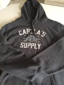 Cabela's outdoors hooded top (brand new)