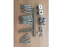 Assorted Bolts, Washers, nuts, studding - M20/M12/M10 - unused