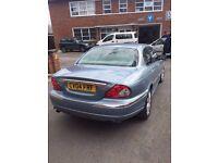 2004 Jaguar X-Type V6 2.5 AWD SE Blue Silver - West London, Airport