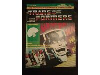 Transformers G1 Comic no 17 from the 80s