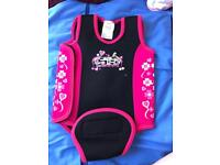 Baby wetsuit wrap. 12-18 month