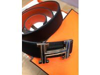 Hermes belt brand new box,papers,tags all packaging