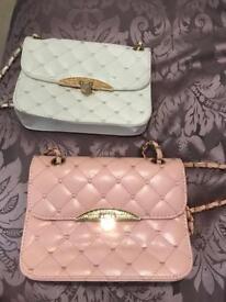 2 Crossbody bags