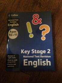 English and Maths KS2 National Test Revision Books