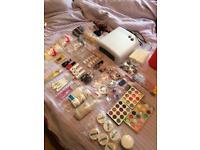 Gel, shellac and acrylic nail kit