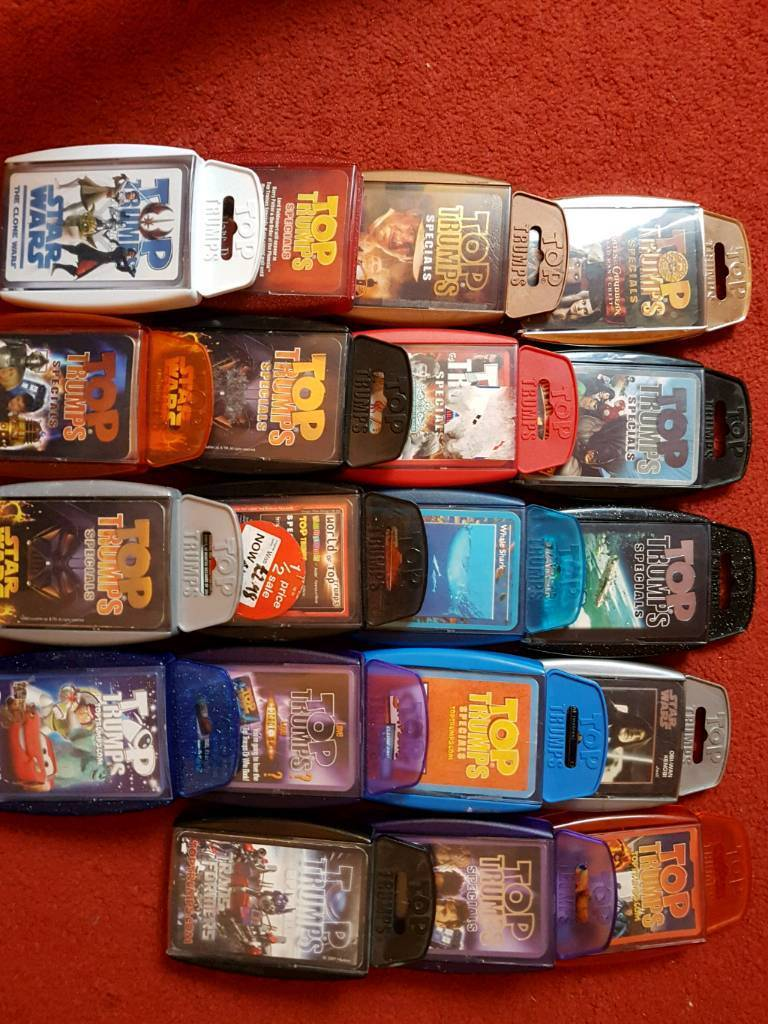 Top trumps games