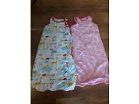 2 x 6-18 month Mothercare baby sleeping bags