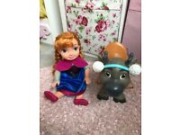 Anna and Sven large dolls