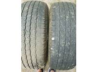 245 65 r17 MITSUBISHI L200 PICK UP 4X4 TYRES VAN TOYO COUNTRY PART WORN TRUCK for sale  Aylesford, Kent