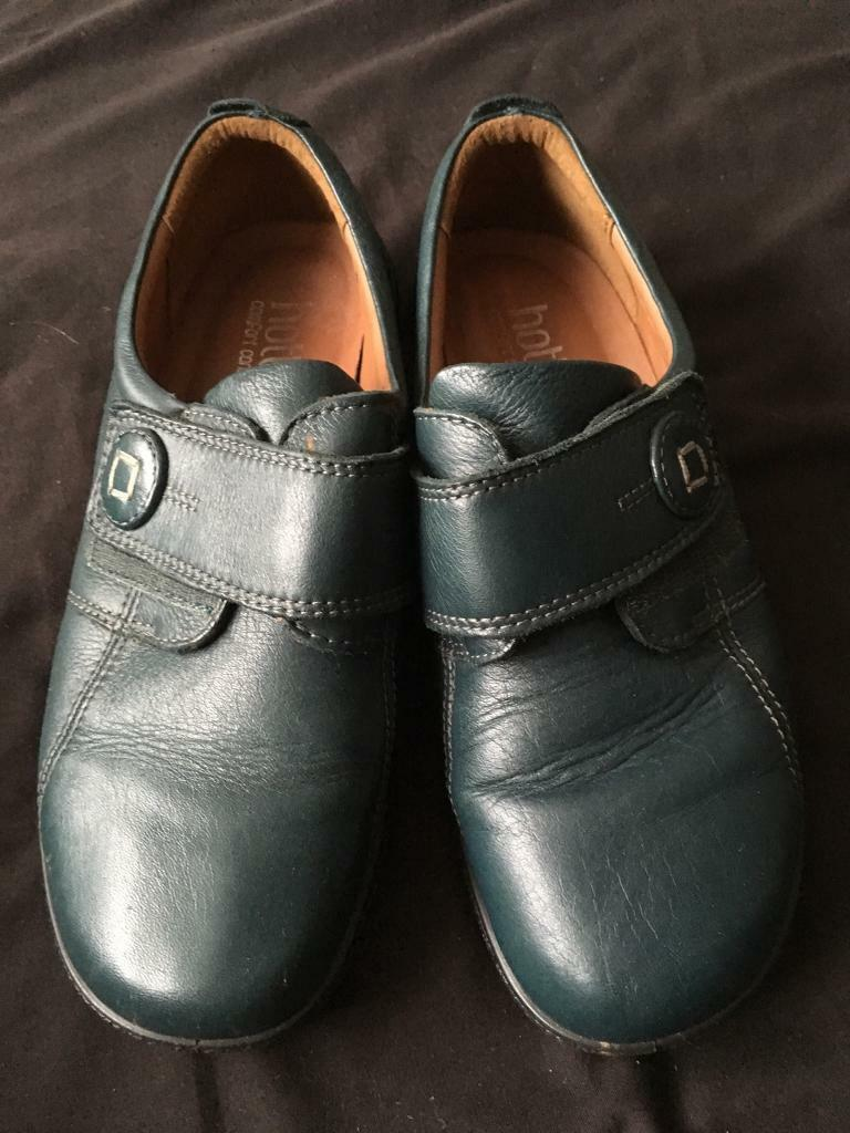 Hotter Teal colour shoes