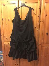 Monsoon size 18 black Carmel dress