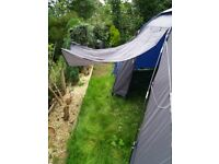 La rochelle 4 tent with ground sheet