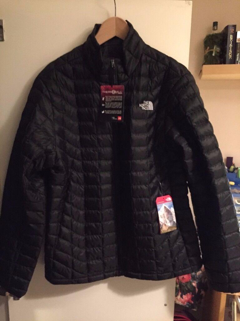 0cee2bb86 The North Face Men's Thermoball Full Zip Jacket TNF Black- Medium ...