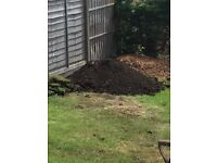 Lots of top soil! Free!