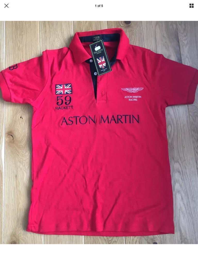 Hackett Polo 59 Gb Red Shirt Martin Aston Racing 0vmN8wOn