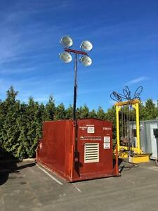 Stamford 125KVA Genset w/ Light Tower