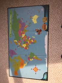 Leapfrog Interactive world map (to be used with LeapReader)