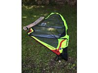 Windsurfing Sail, Ezzywave special edition 5.0 sq mtr (hardly used) Luff: 4.2m