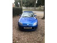 Mg tf trophy blue 1.8 convertible