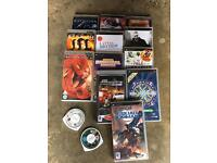 Psp games and dvds