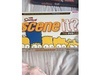 Scene it simpsons DVD game