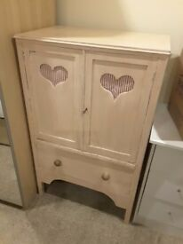 Solid wood girly cupboard