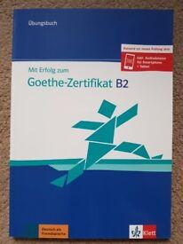 German learning books (Goethe B2)