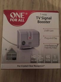 TV Signal Booster (Brand New)