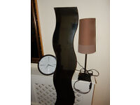 Can Deliver: IKEA full length MIRROR, CLOCK ,Decorative LAMP